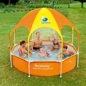 Bestway兒童游泳池 超大號家庭家用成人戲水池 小孩泳池加厚