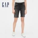 Gap女裝深色水洗五口袋牛仔短褲573731-水洗黑