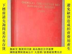 二手書博民逛書店Chemical罕見constitution and biolo