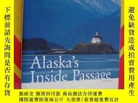 二手書博民逛書店ALASKA S罕見inside passage 阿拉斯加,全銅