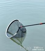 釣魚抄網頭網兜碳素防掛涂膠鯽魚納米細眼大物超輕鈦合金撈魚網 【2021新春特惠】 YYJ