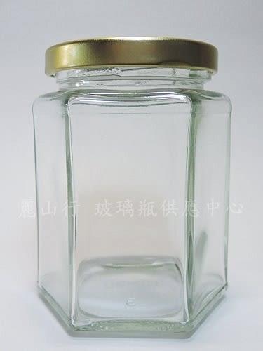 台灣製造 附金蓋 250cc六角瓶 果醬瓶 醬菜瓶 干貝醬 玻璃瓶 玻璃罐 買整箱更便宜S6-250