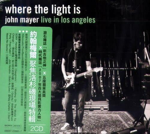 約翰梅爾 聚焦洛杉磯現場特輯 雙CD  (購潮8)