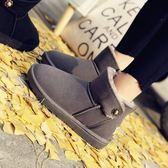 【35-39全尺碼】雪靴. 超保暖雪靴子 黑/灰【全館85折】