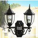 超實惠 雙頭壁燈 歐式戶外門口防水燈 室外庭院陽台壁燈 走廊過道仿古燈