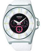 WIRED Solar 復刻太陽能手錶-白 V14J-X005Z
