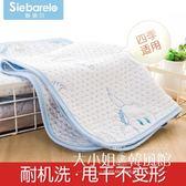 涼席隔尿墊 嬰兒隔尿墊寶寶大號尿墊防水透氣可洗新生兒用品小床墊月經姨媽墊-大小姐韓風館