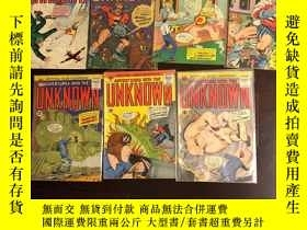 二手書博民逛書店American罕見comics group: adventures into the unknown 7本合售奇
