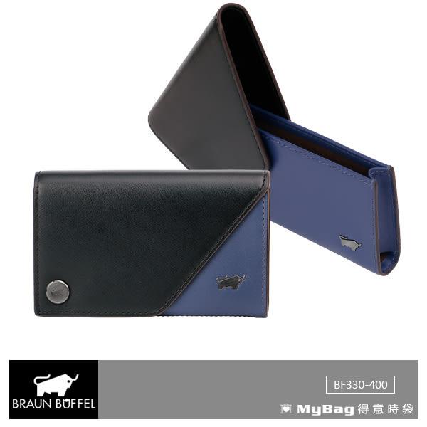 BRAUN BUFFEL 卡夾 MRMR系列 信用卡夾 BF330-400-BK 得意時袋