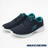 SKECHERS GO WALK 4 健走系列 海軍藍X土耳其藍 14175WNVTL 女鞋