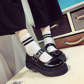 鬆糕鞋女日系jK制服鞋原宿圓頭小皮鞋厚底軟妹鞋子學院娃娃單鞋女 巴黎時尚