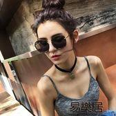 館長推薦☛2018新款韓國墨鏡太陽鏡女圓臉個性