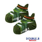DOUBLE_B  日本製迷彩印花低筒襪(綠)
