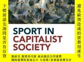二手書博民逛書店【罕見】 Sport In Capitalist SocietyY27248 Tony Collins Rou