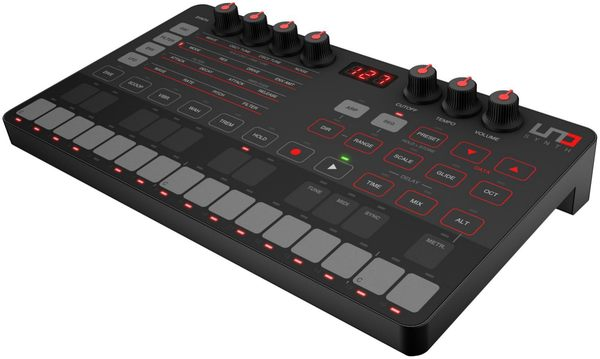 凱傑樂器 108/06/01-108/07/31 贈原廠攜行袋  iRig UNO SYNTH 真實音 合成器 鍵盤 公司貨
