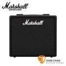 Marshall CODE 25 25瓦電吉他音箱 內建綜合效果器 藍芽功能【經典Marshall音箱頭 / 音箱音色】