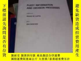 二手書博民逛書店FUZZY罕見INFORMATION AND DECISION