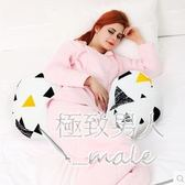 孕婦護腰側睡多功能u型枕xx3695【極致男人】