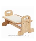 日本 Doggyman 橡木寵物餐桌-高級實木餐架 - S 狗寶適用