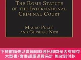 二手書博民逛書店The罕見Rome Statute Of The International Criminal CourtY2