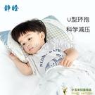 嬰兒枕頭幼兒0-1新生寶寶定型枕3歲以上兒童枕防偏頭四季通用品牌【小玉米】