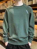 秋冬衛衣男士長袖t恤潮流內搭圓領打底衫外穿秋衣服男裝秋裝上衣 韓國時尚週