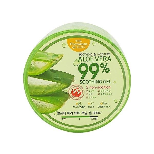 韓國 Beloved&Co 蘆薈99%超補水修護保濕凝膠(300ml)【小三美日】蘆薈膠