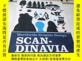 二手書博民逛書店Worldwide罕見Graphic Design Scandi