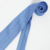 極品西服 Teflon防潑水義大利領帶_水藍色(YT0123)