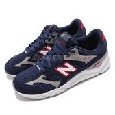 New Balance 慢跑鞋 NB X90 藍 白 透氣網布 全新鞋款 運動鞋 男鞋【ACS】 MSX90TBHD