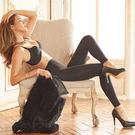 V.VIENNA 微微安娜 推脂纖腿緊緻九分褲襪_黑色 ◆86小舖 ◆