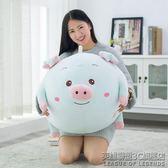 軟體趴趴豬抱枕公仔毛絨玩具大號布玩偶娃娃情侶情人節 IGO