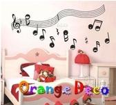 壁貼【橘果設計】五線譜 DIY組合壁貼 牆貼 壁紙室內設計 裝潢 壁貼