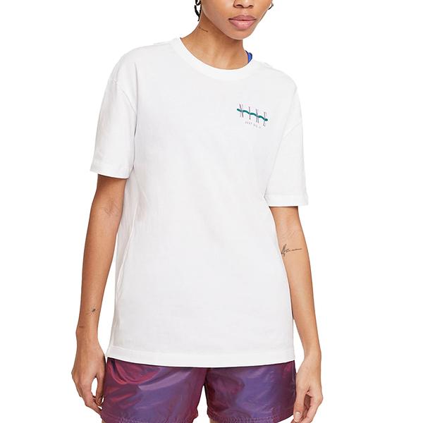 NIKE NSW TEE BOY VINTAGE 白 女 夏日 海邊 休閒 短袖 T恤 DD1480100