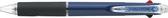 UNI SXE3-400-05 0.5mm溜溜三色筆透明筆夾限定色新上市