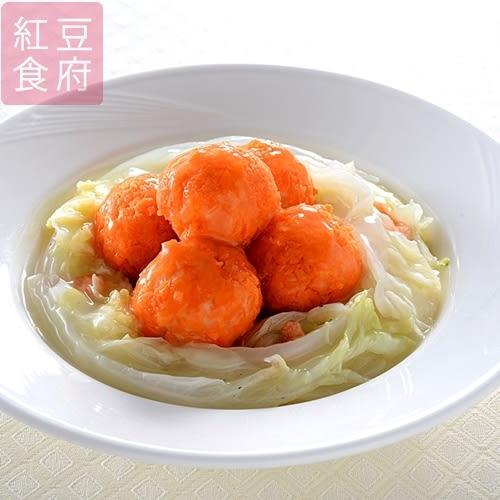 紅豆食府-干貝海鮮綉球