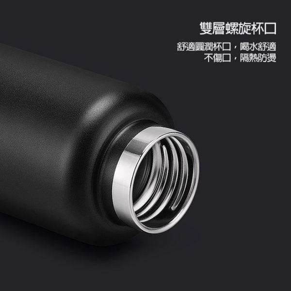 弧形把手提不鏽鋼運動保溫杯 水壺 750ml TEK820