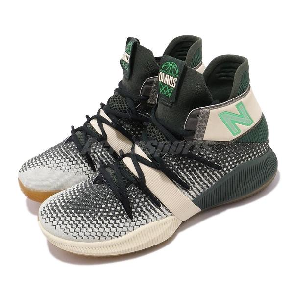New Balance 籃球鞋 OMN1S Money Stacks 綠 米色 女鞋 膠底 運動鞋 【PUMP306】 WBOMN1MTB