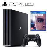 SONY PS4 PRO 1TB 主機 + 底特律:變人《中文版》
