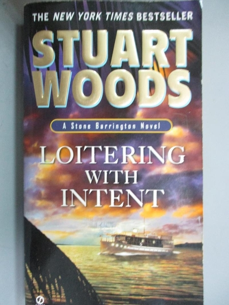 【書寶二手書T2/原文小說_HOB】Loitering With Intent_Woods, Stuart