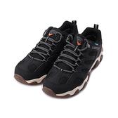 LOTTO 靜態防水低筒戶外登山鞋 黑 LT1AMO3580 男鞋