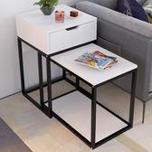 沙發邊幾小茶幾簡約迷你小桌子客廳沙發邊櫃創意臥室床頭桌 xw中元節禮物