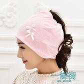 坐月子帽產后保暖加厚產婦孕婦帽子