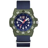 年節限時下殺價-雷明時NAVY SEAL 海豹2代腕錶 – 藍x白時標/45mm A3503.ND