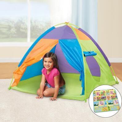 遊戲帳篷帳篷室內外玩具游戲屋公主寶寶過家家女孩折疊大房子海洋球池igo 貝兒鞋櫃