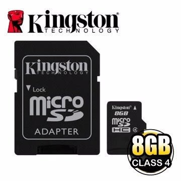 金士頓 記憶卡 【SDC4/8GB】 8G 8GB Micro SDHC Class 4 C4 新風尚潮流