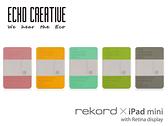 【A Shop】 ECHO rekord x iPad Mini 2/ Mini 3 EPK2-B2- 001系列 筆記本式保護套-共五色