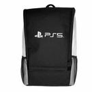 [哈GAME族]免運費 可刷卡 PS5 黑白雙色 雙肩外出後背包 收納包保護遊戲機雙肩背包