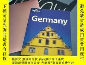 二手書博民逛書店lonely罕見planet Germany 孤獨星球德國Y23