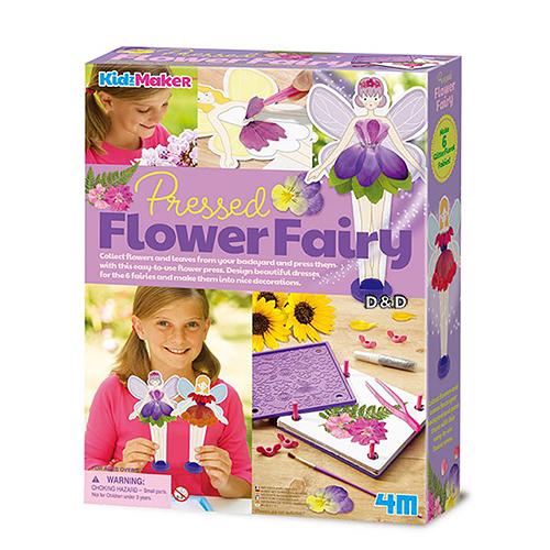 《4M美勞創作》壓花藝術 Pressed Flower Fairy╭★ JOYBUS玩具百貨